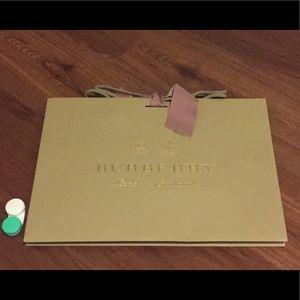 Burberry Bags - Burberry London shopping paper bag